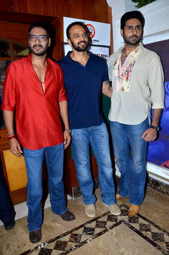 Rohit,Abhi and Ajay at Taarak Mehta Ka Ooltah Chashmah To Promote Bol Bachchan