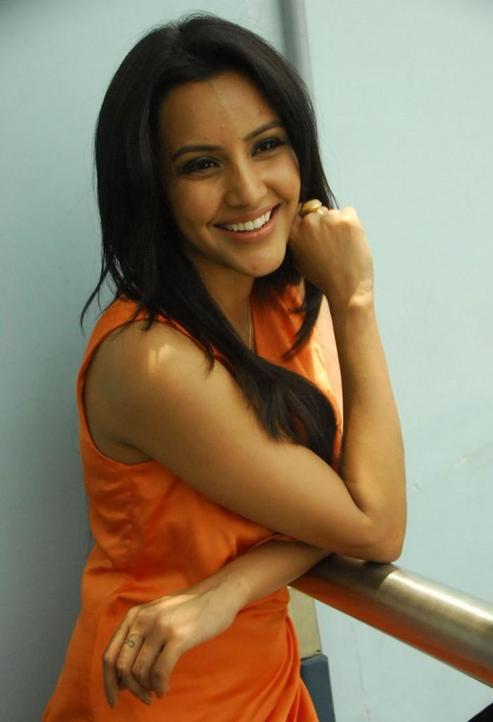 Priya Anand Smiling Face Still at 180 Movie Music Event