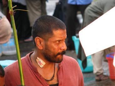 Tamil Actor Vikram Angry Still In Raavan