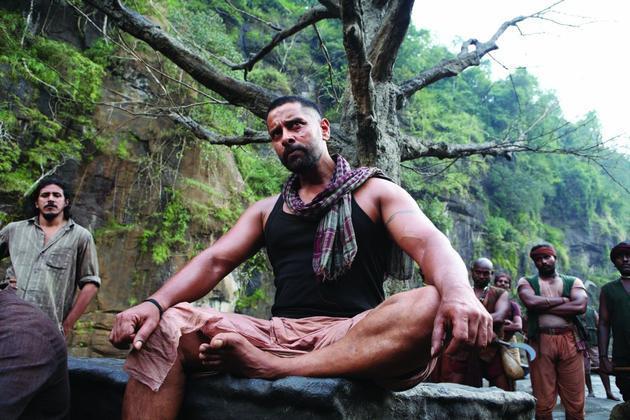 Vikram Latest Still From Movie Raavan