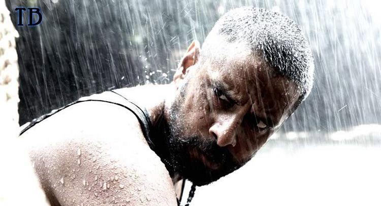Vikram In Raavan Rain Still