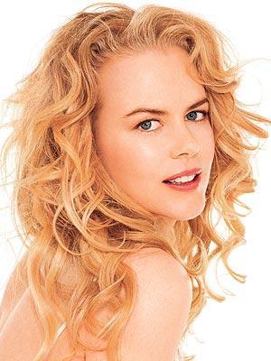 Nicole Kidman In Curly Hair Sexy Photo