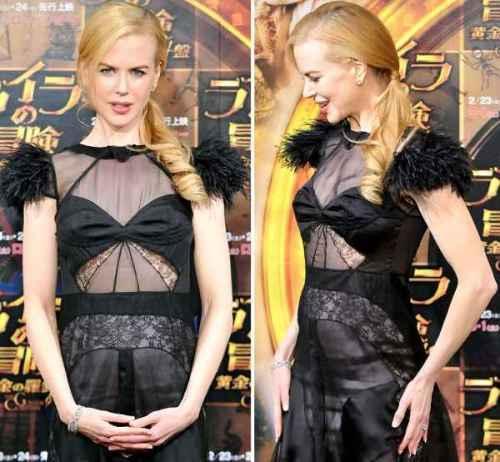 Nicole Kidman Sexy Dress Latest Picture