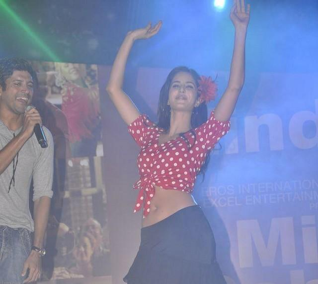 Katrina Kaif  Dancing Pic at The Promotional Event Of ZNMD