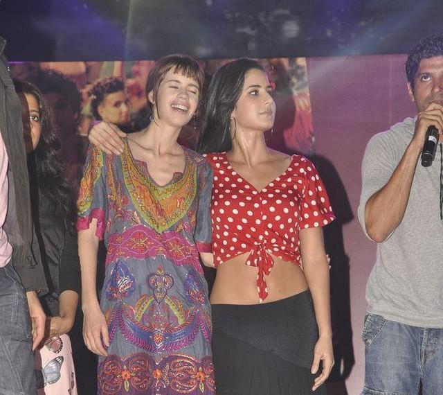 Katrina Kaif With Kalki at The Promotional Event Of ZNMD