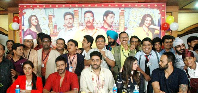Bol Bachchan Casts Promote Their Film On TV Serial Taarak Mehta Ka Ooltah Chashmah