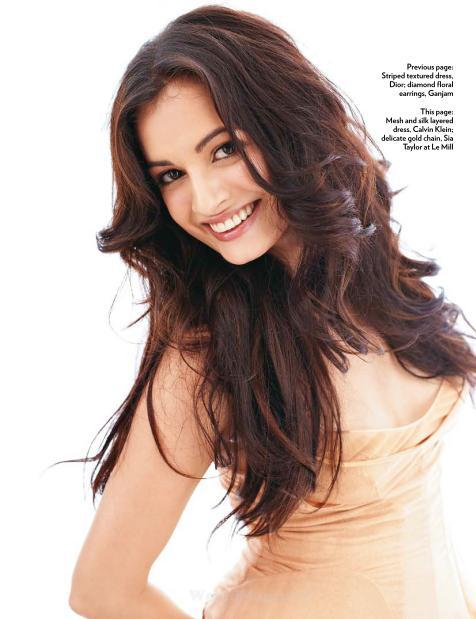 Dia Mirza Latest Cute Photo Shoot For Marie Claire Magazine July 2012
