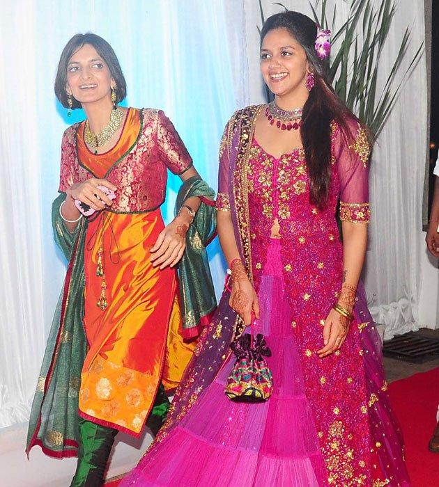 Ahana Deol Spotted at Esha's Reception