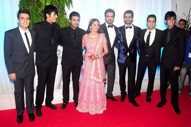 Esha and Bharat Takhtani Grand Wedding Reception Photo