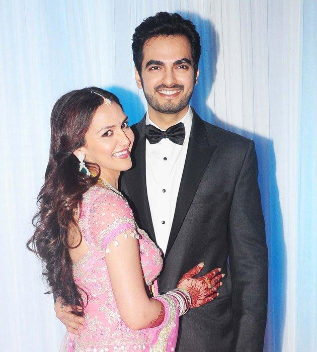 Esha Deol and Bharat Grand Wedding Reception Sweetest Still