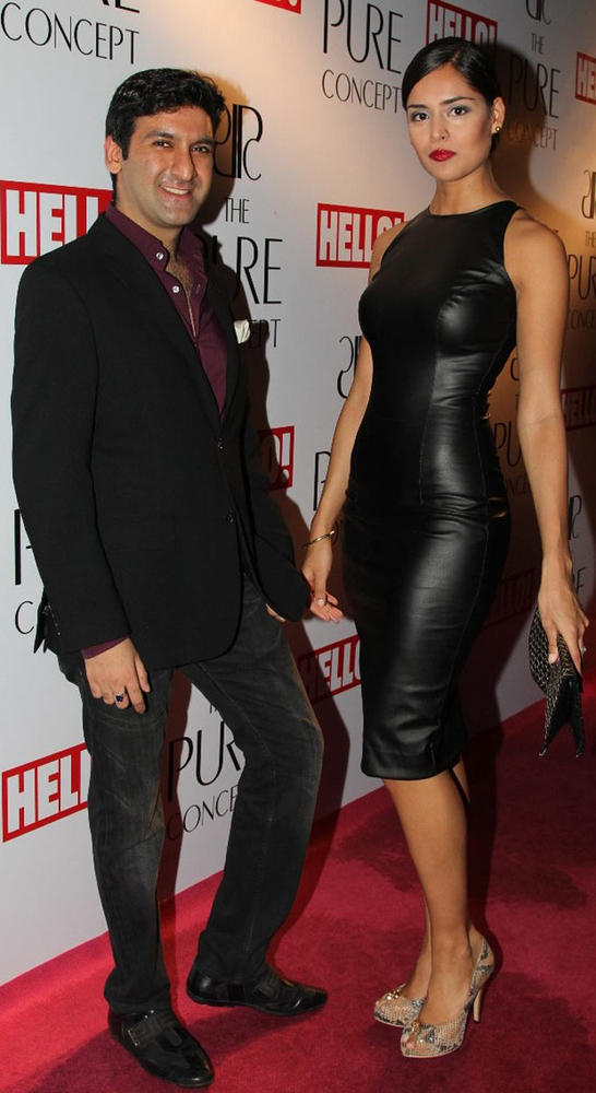 Ashish and Nathalia Strikes a Pose at Pure Concept Store Launch