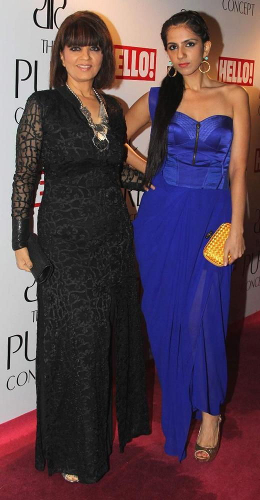 Neeta and Nishka Lulla at Pure Concept Store Launch