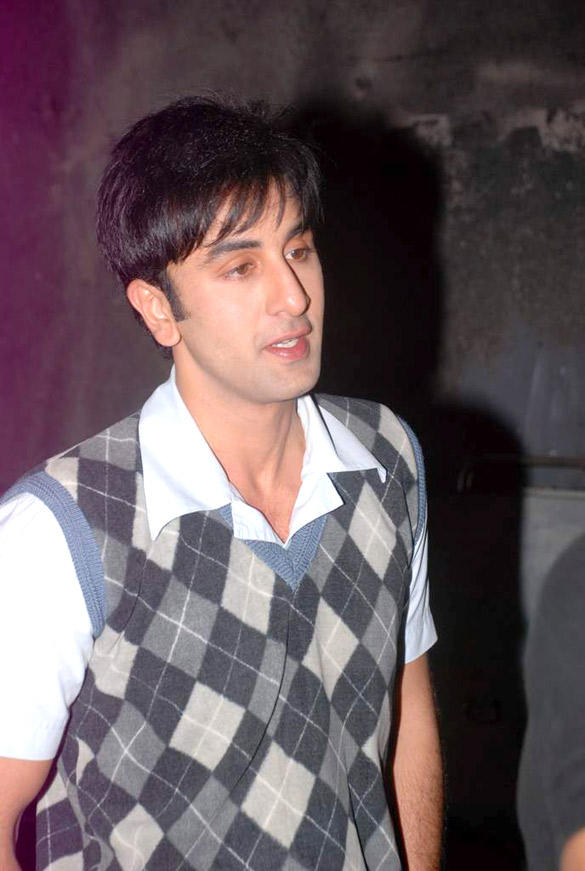Ranbir Kapoor Snapped in a New Ponytail Look