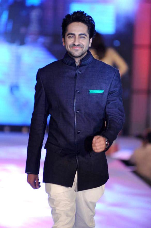 Ayushman Khurana at CPAA For Manish Malhotra Fashion Show