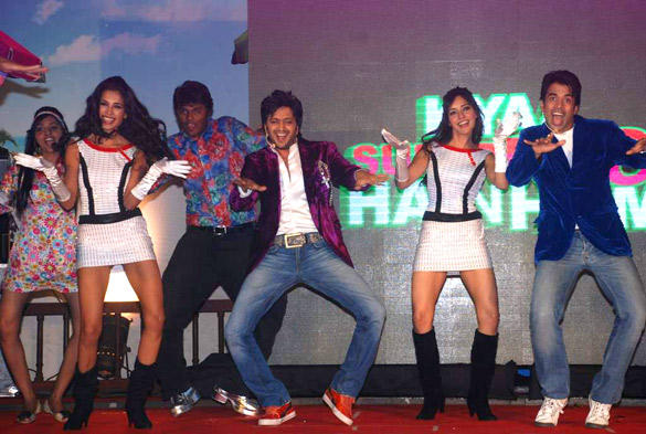 Star Cast Performs at Kyaa Super Kool Hain Hum Audio Launch Event