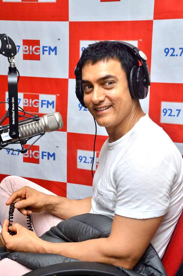 Aamir Khan Promote Very Popular Show Satyamev Jayate at 92.7 BIG FM