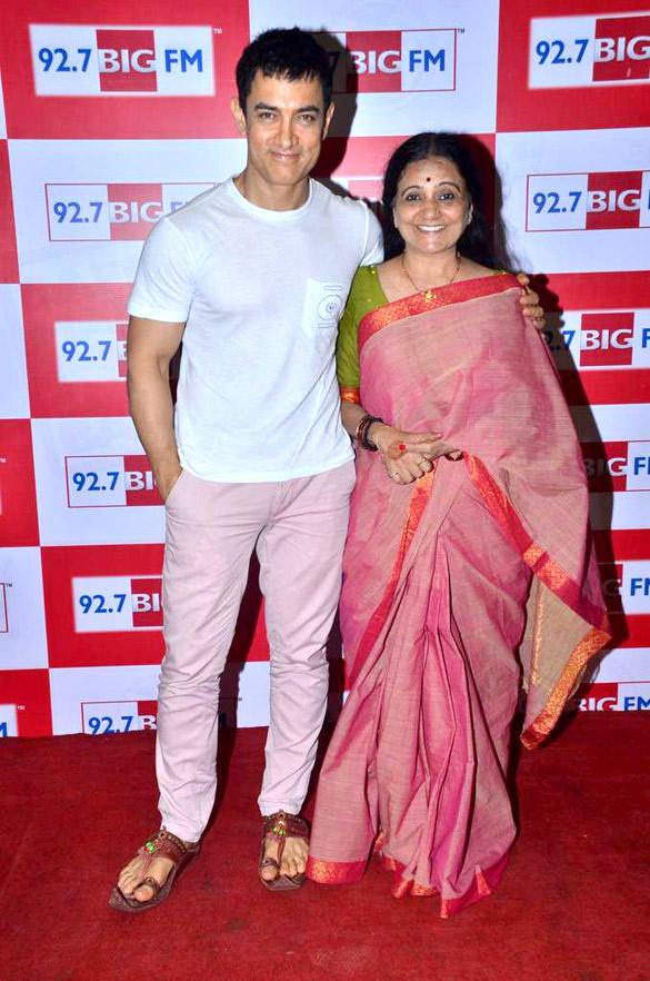 Bollywood Star Aamir Khan at 92.7 BIG FM To Promote Satyamev Jayate Show