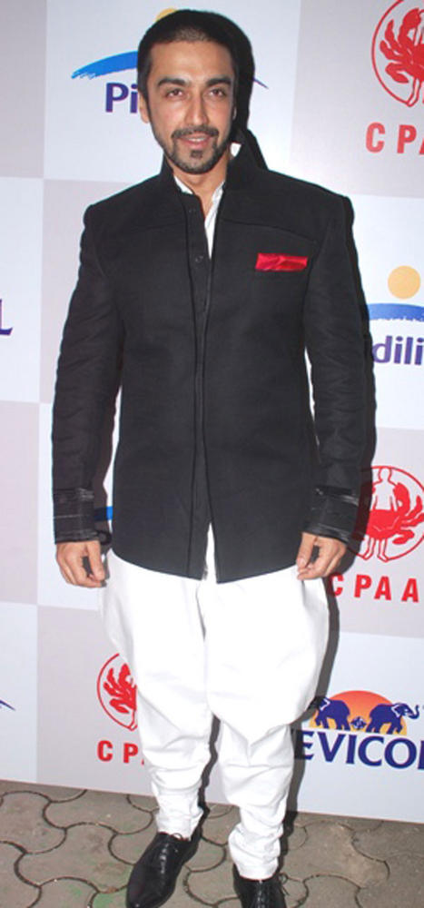 Ashish Choudhary Snapped at CPAA Fashion Show 2012