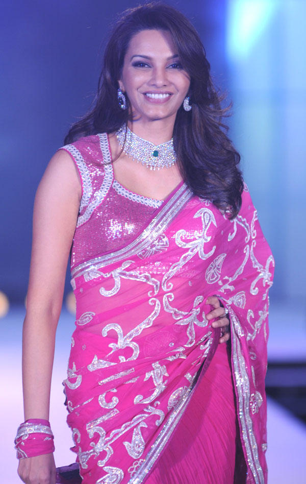 Diana Hayden Walks at CPAA Fashion Show 2012