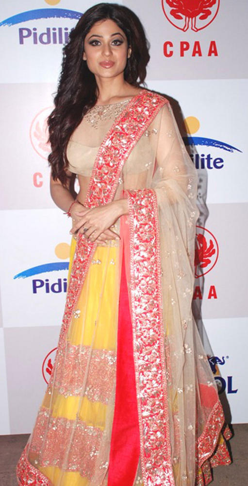 Shamita Shetty Spotted at CPAA Fashion Show 2012