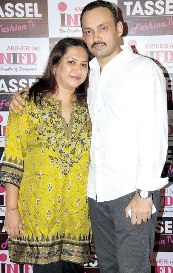Vivek and Mamta Gautam at Tassel Designer Awards 2012