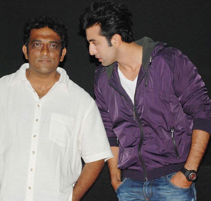 Anurag Basu and Ranbir Kapoor at Barfee Trailer Launch
