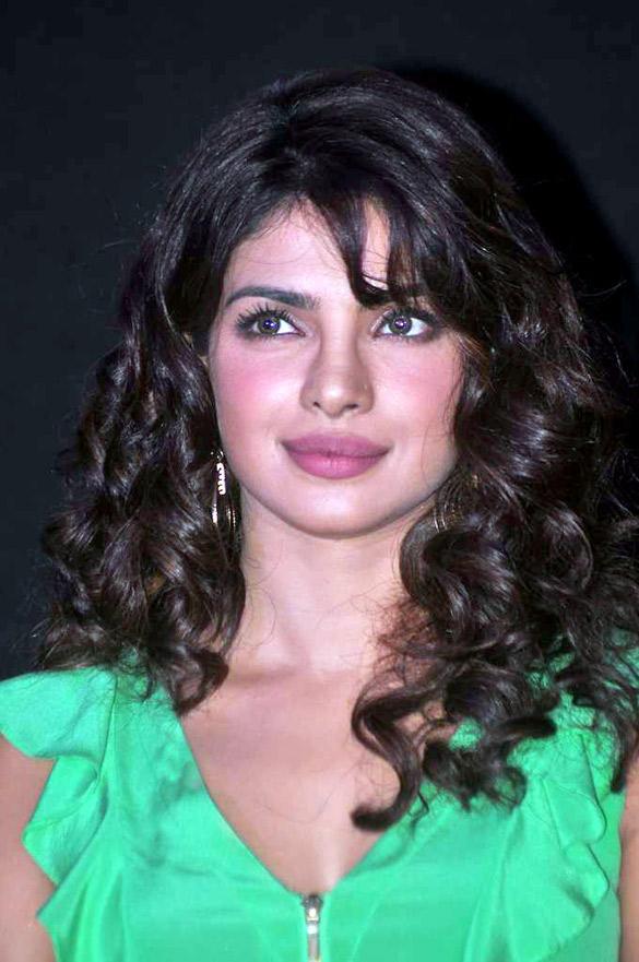 Priyanka Chopra Looking Beautiful at The First Look Launch Of Barfee