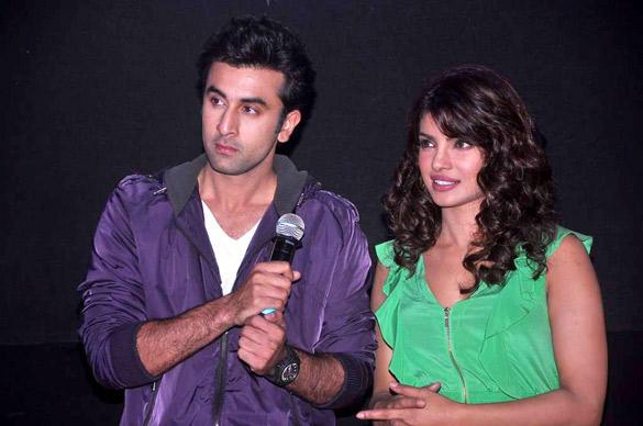 Ranbir and Priyanka at Barfee Movie Theatrical Trailer Launch