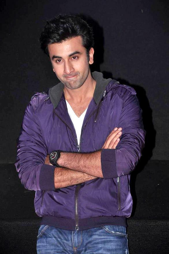 Ranbir Kapoor at Romantic Comedy Cinema Barfee Trailer Launch