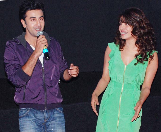 Ranbir,Priyanka at Barfee New Movie Trailer Launch