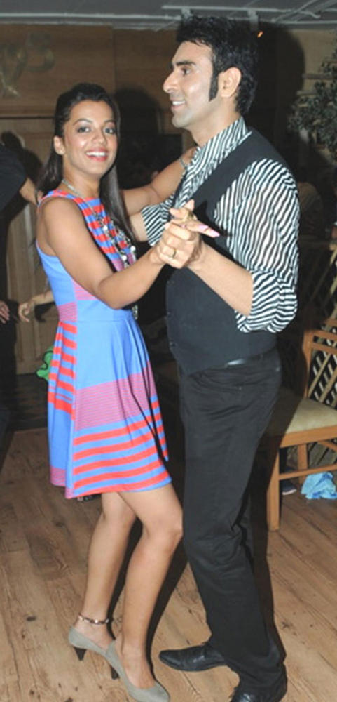 Mugdha Godse Enjoys Dancing with Sandeep Soparkar