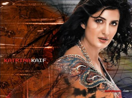 Katrina Kaif Saree Small Wallpaper