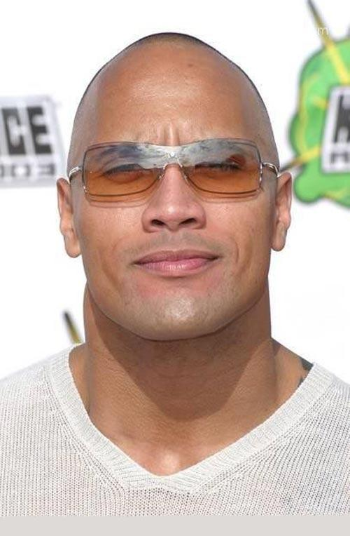 Dwayne Johnson More Famously Known as The Rock and Came in 3rd