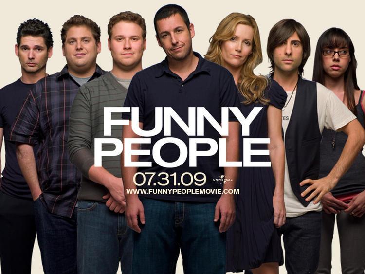 Adam Sandler in Funny People Wallpaper