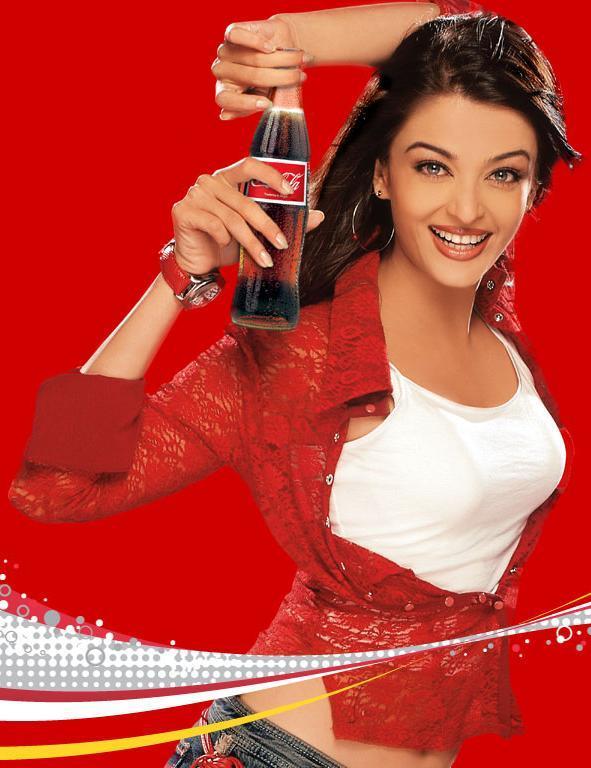 Aishwarya Rai Coca Cola Ad Pic