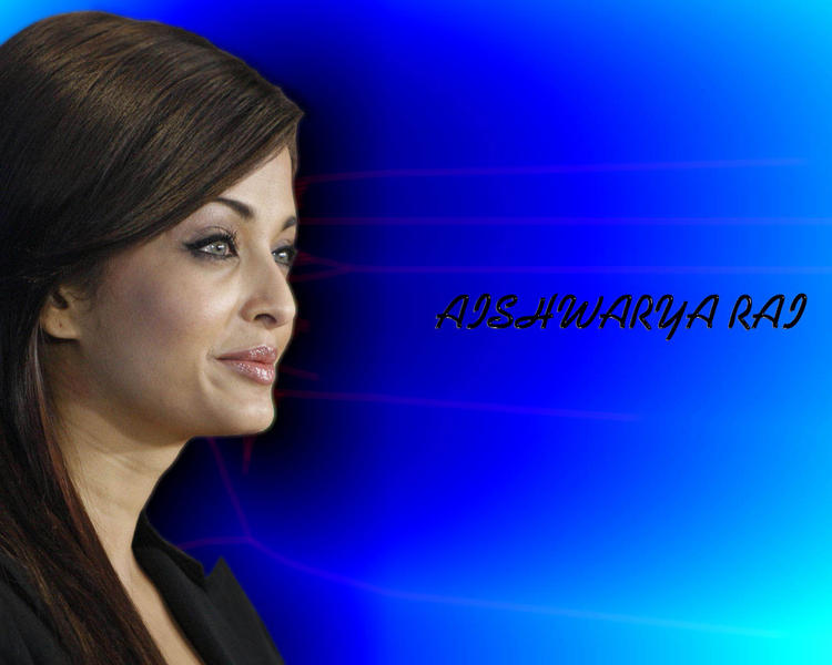 Stunning Beauty Aishwarya Rai Wallpaper