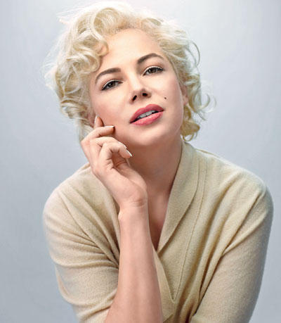 Michelle Playing The Role Of Marilyn Monroe and She was Awarded the Golden Globe For Best Actress in a Musical or Comedy Motion Picture