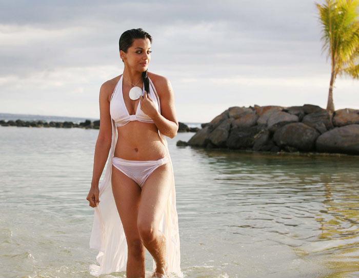 Mugdha Godse Help Movie White Bikini Shocking Pic