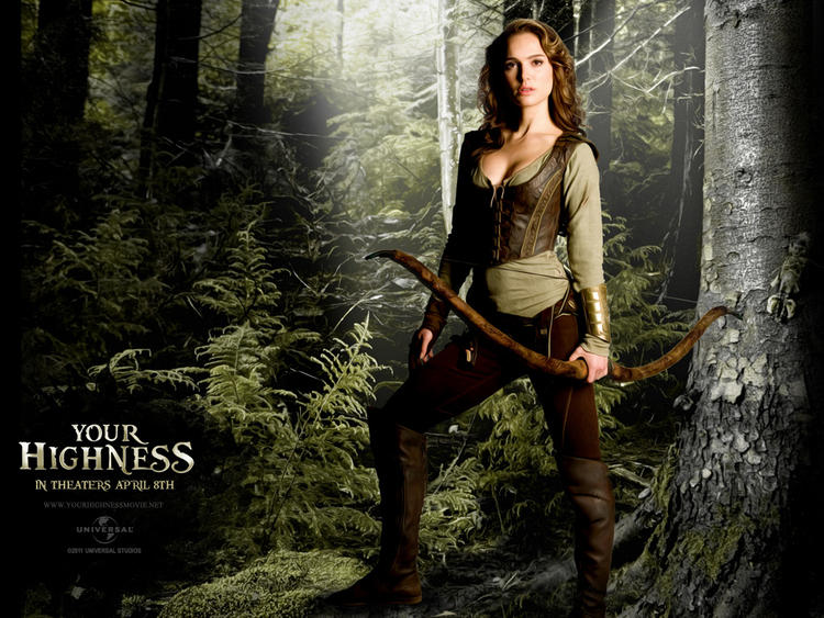 Your Highness Movie Natalie Portman Hot Photo