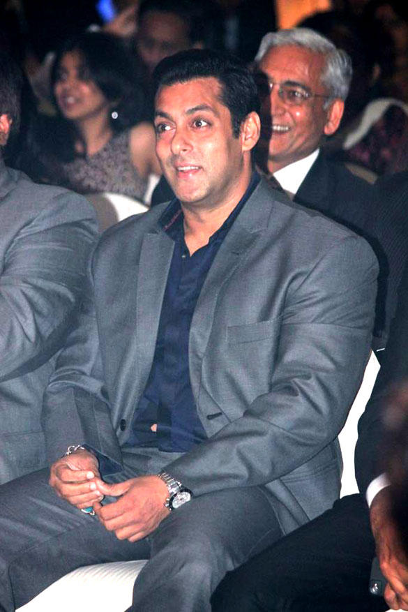 Salman Khan Smiling During 8th Indo-American Corporate Excellence Awards