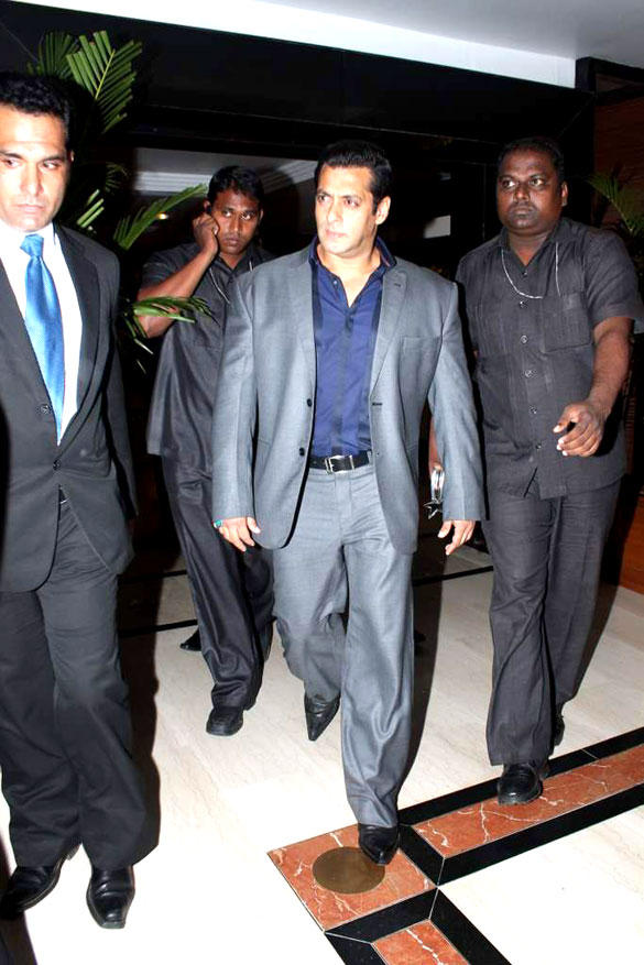 Salman Khan Snapped at 8th Indo-American Corporate Excellence Awards