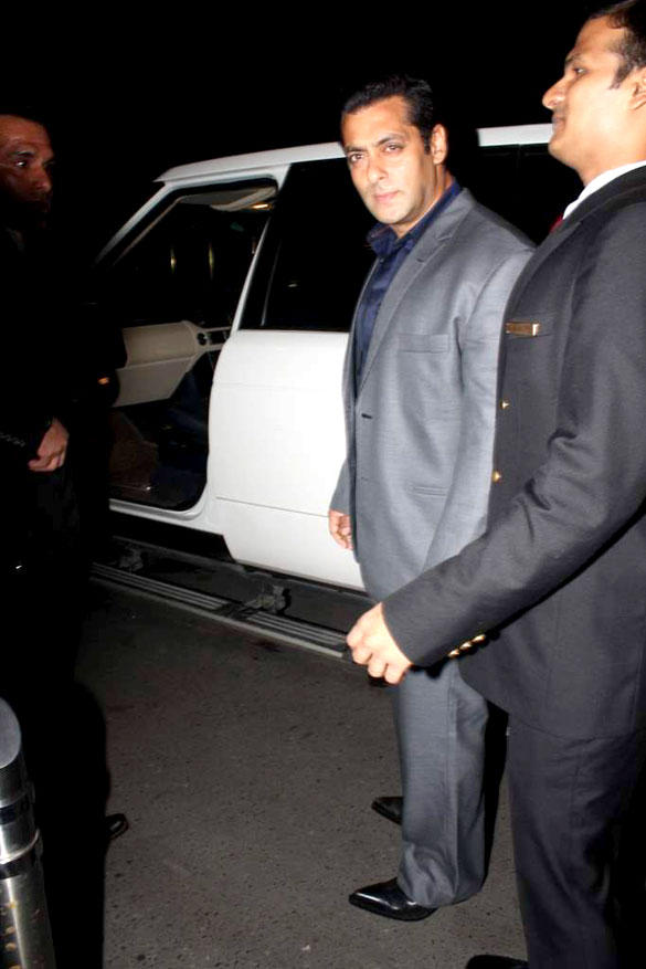 Salman Khan Spotted at at 8th Indo-American Corporate Excellence Awards