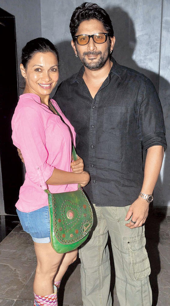 Arshad Warsi and Maria Goretti Make a Smart Couple at a Recent Dinner Party