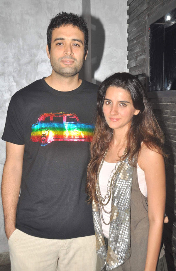 Danish Aslam and Shruti Seth Spotted at a Dinner Party