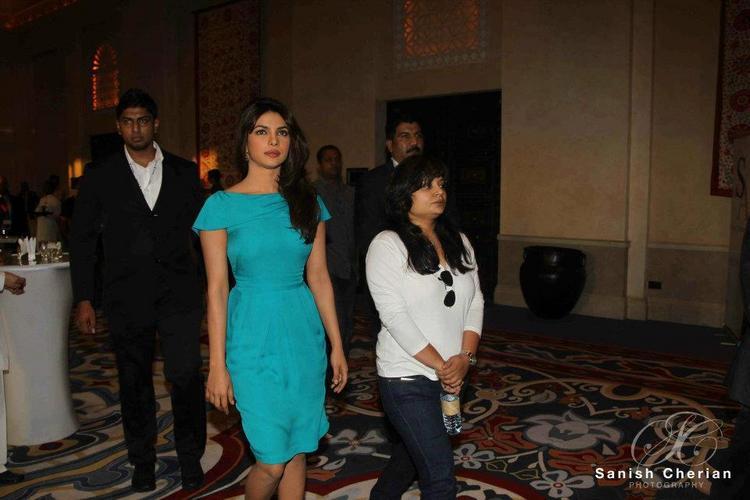 Priyanka Snapped at Gitanjali Jewellery Press Conference