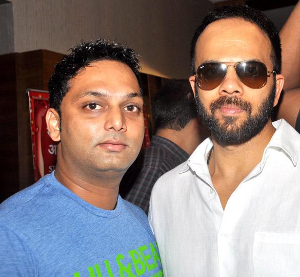 Rohit Shetty and Prashant Poses For Camera at Fame Inorbit Mall