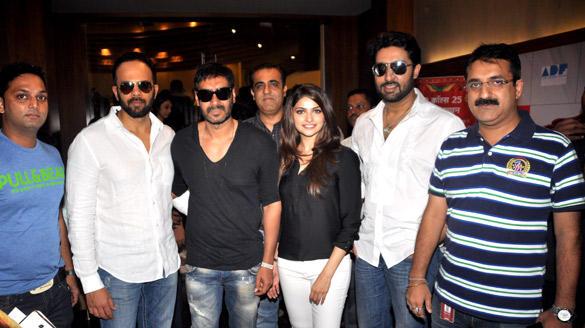 Star Cast of Bol Bachchan Meet Fans at Fame Inorbit Mall