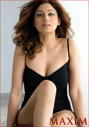 Shamita Shetty Maxim Hot Photo Shoot