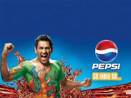 Icc Cricket World Cup 2011 Dhoni in Pepsi Ads