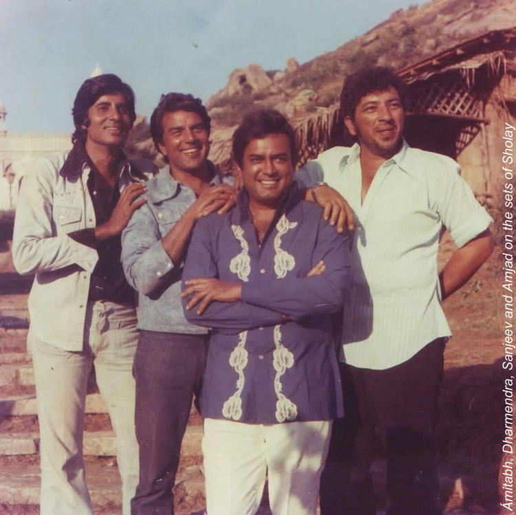 Amit,Dharam,Sanjeev and Amjad Young Age Photo